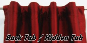 Hidden Tab Top