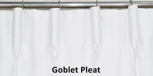 Goblet Pleated